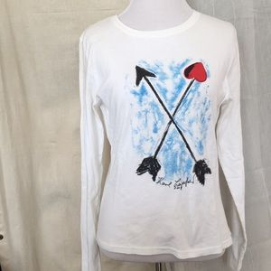 Karl Lagerfeld limited 2008 Hanes hart arrow tee L